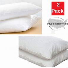 bed pillows king size set hypoallergenic microfiber
