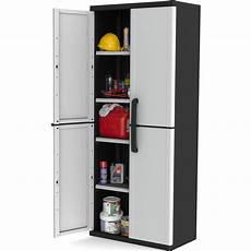 keter 4 shelf winner plastic garage storage cabinet buy