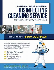 Cleaning Services Ads Promoting Your Cleaning Service During Covid 19 Marketing