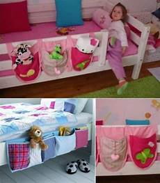 hanging bed organizer the easy tutorial