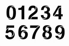 Numbers Design Template 9 Number Stencils Free Sample Example Format Download