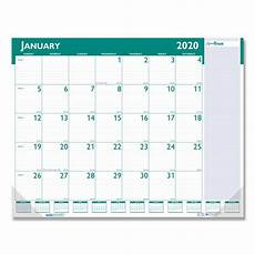 Small Desk Calendar 2020 Express Track Monthly Desk Pad Calendar 22 X 17 2020