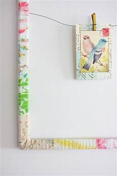 fabric crafts frames 25 things to do with fabric scraps
