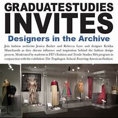 Traphagen School Of Design Grad Studies Invites The Traphagen School Designers In