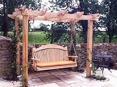 pergola swing quality wooden swing seat and pergola yard