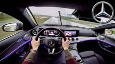 First Car With Ambient Lighting Mercedes Benz E Class 2017 Test Drive Ambient