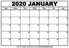 2020 Jan Calendar Calendar Jan 2020 Printable Free Letter Templates