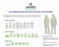 Jockey Slimmers Size Chart Sizing Apparel Pro Health Care Wear