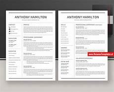 Curriculum Vitae Word Template Minimalist Cv Template Resume Template Word Curriculum