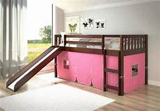 childrens tent loft bed with slide kfs stores