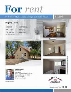 Free Apartment Advertising Colorado Springs Rental Open House 707 S Royer St 80903