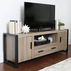 blend 60 inch tv stand ash grey black by walker edison