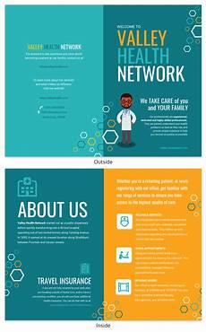 Information Pamphlet Template Teal Medical Informational Pamphlet Template