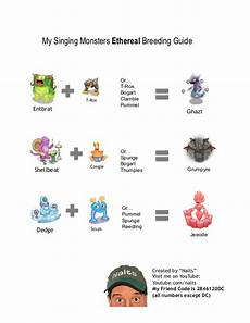My Singing Monsters How To Breed Official Guide For Ethereal Island My Singing