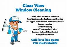 Window Cleaning Flyers Window Cleaner Flyers With Free Delivery Putty Print