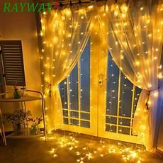 String Fairy Wedding Curtain Light 4 5mx3m 300led Light Christmas Decorations Leds Icicle Led