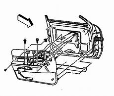 Diagrams To Remove 2005 Buick Lacrosse Driver Door Panel