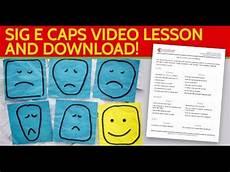 Sig E Caps Learn Medical Spanish Sig E Caps Depression Screen In