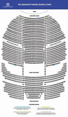 Wicked Seating Chart Gershwin Theatre Gershwin Theatre Broadway Direct