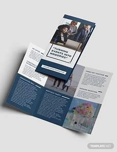 Mac Brochure Template Event Planning Business Tri Fold Brochure Template Word