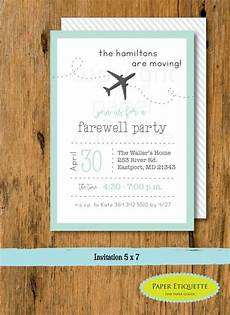 invitation ideas for party going away party moving party invitation packing party