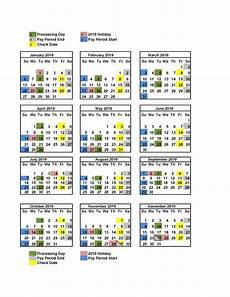 2020 Payroll Calendar Template 2020 Biweekly Payroll Calendar Free Printable Calendar