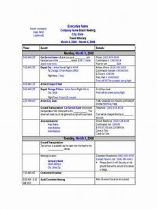 Examples Of An Itinerary Free 6 Travel Schedule Examples Amp Samples In Google Docs