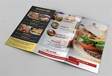 Food Brochure Templates Food Menu Template V106 Brochure Templates Creative Market