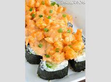Homemade Sushi: Volcano Roll Recipe
