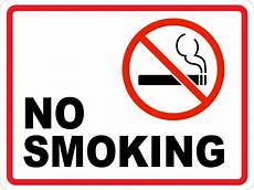 Sample No No Smoking Ii Wall Sign Creative Safety Supply