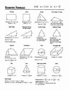 Geometric Formula Geometry All Shapes Google Search Geometry Formulas