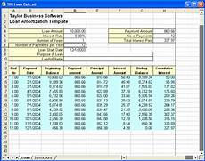 Simple Loan Calculator Excel Loan Amortization Schedule Excel Template Analysis Template