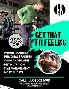 Training Advertisement Template 37 Best Fitness Flyers Images On Pinterest Fitness