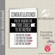 Retirement Cards Printable Free Retirement Card Printable Card Funny Retirement Boss