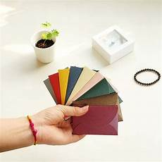Small Envelope 50pcs Set Vintage Love Small Colored Pearl Blank Mini