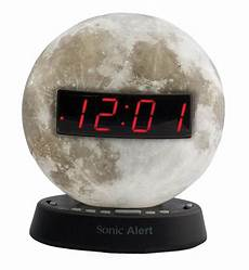 Izoom Ready Light Maxiaids The Sonic Glow Moonlight Alarm Clock With
