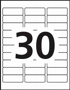 Avery 30 Labels Template Free Label Templates Avery
