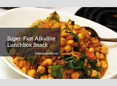 Alkaline Diet Quick Tip: My Super Fast Alkaline Snack