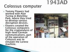 History Of Computers Modern