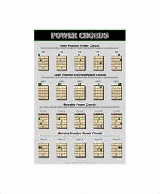 Guitar Bar Chords Chart Free 6 Guitar Bar Chords Charts Free Sample Example Format