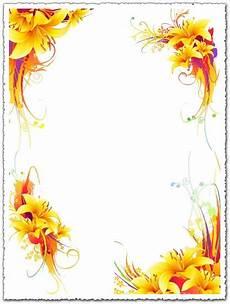 Flower Designs Yellow Lily Vector Flower Design