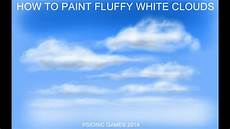 How To White Paint Sketchbook Pro How To Paint Fluffy White Clouds