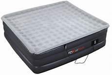 king size raised air mattress plush high rise