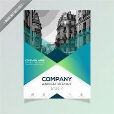 Free Report Cover Templates Annual Report Template Free Vector