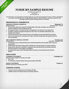New Rn Resume Samples 10 Best Nursing Resume Templates