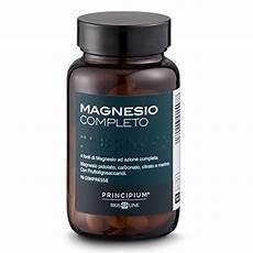 effetti collaterali magnesio supremo magnesio completo 2019 caratteristiche uso e benefici