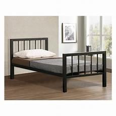 cheap metro 3ft single black metal bed sale metro 3ft