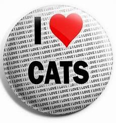 i cats pin badge 3 quot 75mm gift birthday