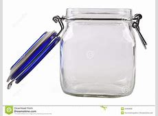 Open Empty Glass Jar Royalty Free Stock Images   Image