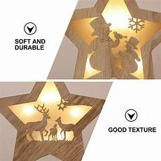 Five Star Lighting Twinsburg 2pcs Christmas Durable Star Ornament Five Pointed Star